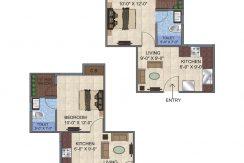 1BHK-Floor-Plan