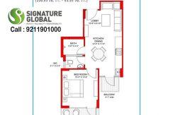 Signaturegrandiva.com1-BHK-Type-A