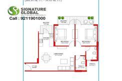 Signaturegrandiva.com2-BHK-Type-A