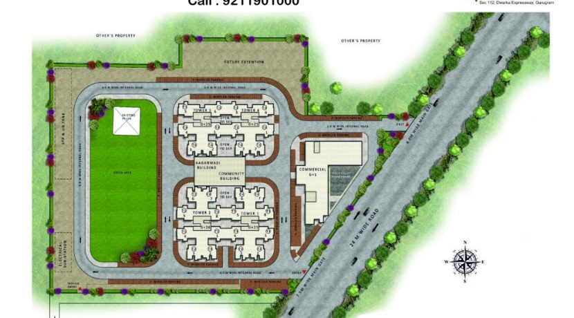 pareena-om-apartments-site-plan