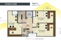 signatureglobalcity37d floor plan basement type c