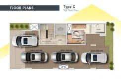 signatureglobalcity37d floor plan stilt type c